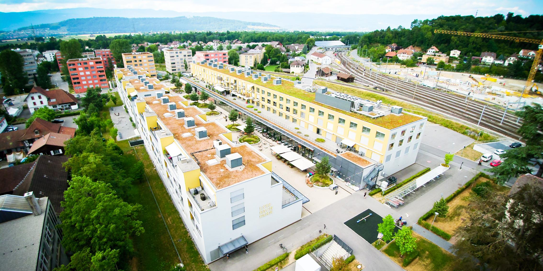 Einkaufscenter Lyssbachpark