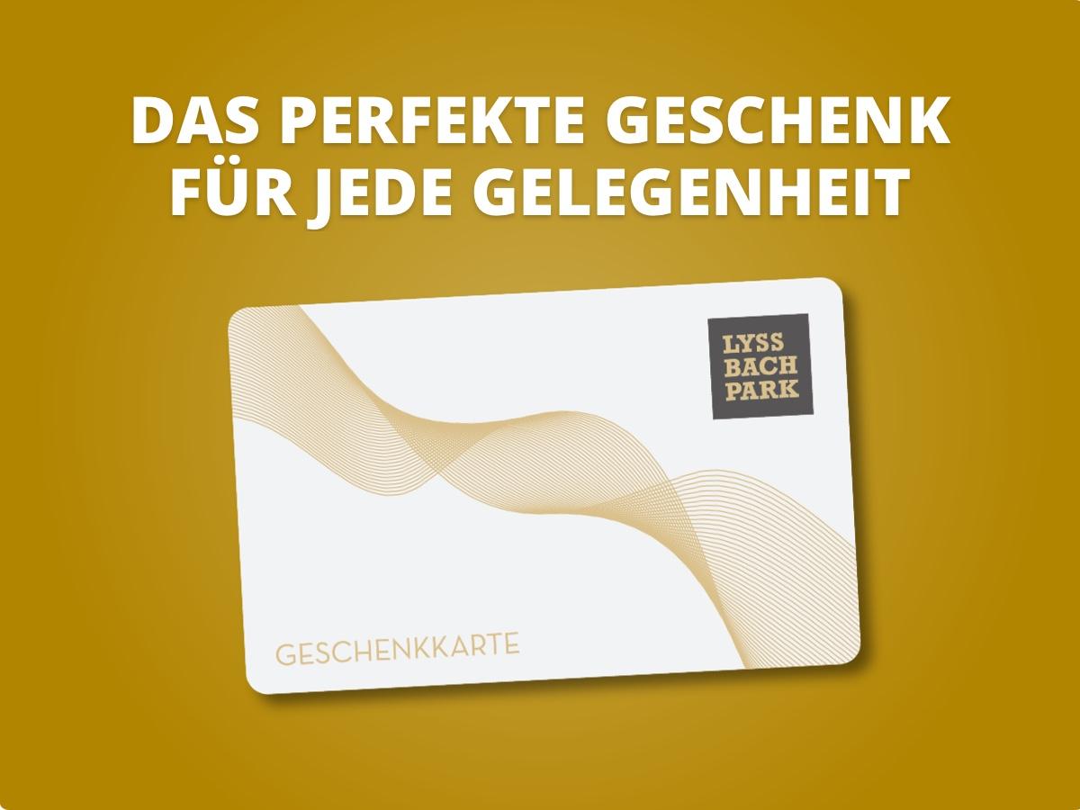 LYSSBACHPARK-GESCHENKKARTE
