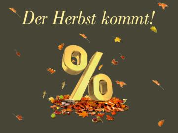 Der Herbst kommt!