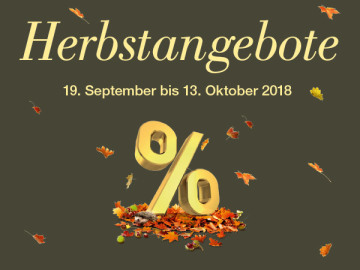 Herbstangebote im Lyssbachpark!